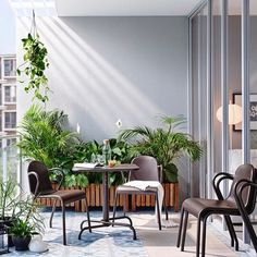 The best place to dine this summer? Right outside your back door, with the #IKEA TUNHOLMEN table and chairs.