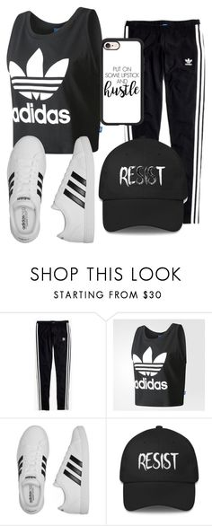 """""""Untitled #98"""" by halissiaelviracra on Polyvore featuring Madewell, adidas and Casetify"""