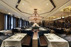 House of Yuen Restaurant by Metaphor Interior at Fairmont Hotel, Jakarta – Indonesia - Google Search