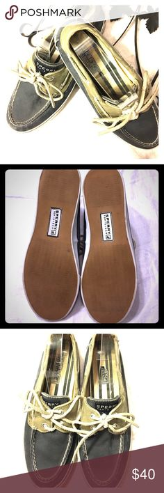 """Sperry Top-Sider Loafer Good used condition on the inside of shoe, """"Great"""" preowned condition on the outside. White of the shoe is almost like new Sperry Top-Sider Shoes Flats & Loafers"""