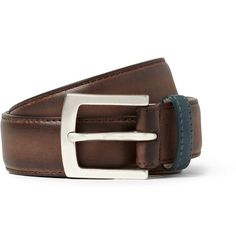 Paul Smith Shoes   --WELL TURNED LEATHER BELT...