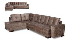 Sofá Mônaco com chaise (ref:037) possui assento fixo e encosto com almofadas soltas. O assento é feito com percintas elásticas trançadas com molas espirais e o encosto é com almofadas de fibra de silicone. Sua estrutura é feita a partir de madeira de reflorestamento. Disponível em várias cores e tecidos, conforme nosso mostruário. http://www.moradamoveis.com/