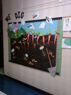This We Dig Science Bulletin Board Was Created In The Spring Of 2011