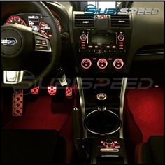 Maybe the 2015 WRX and STI should have come with footwell lighting from the beginning. Either way, now you have the opportunity to install a simple OEM product that will set your vehicle aside from others. Subaru Wrx 2017, Subaru Hatchback, Subaru Impreza Sti, Subaru Cars, Subaru Forester, Wrx Sti, Jdm Cars, Wrx Mods, 2015 Sti