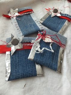 25 Ways To Upcycle Your Old Denim   HGTV Decor