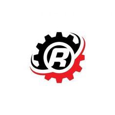 Letter B Gear Logo Design Template G Logo Design, Logo Design Template, Graphic Design, Letter M Logo, Letter B, Machine Logo, Wheel Logo, Gear Logo, Logo Color