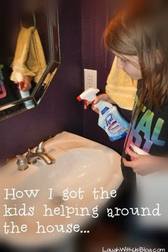How I got the kids helping around the house... | Kids | Pinterest