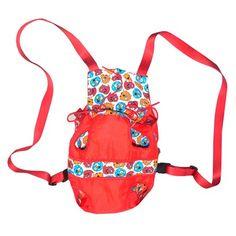 Mochila Canguru Bag Dog Vermelho AMF Pet - Tamanho: (L) 30 x (A) 28 cm  -Nylon liso  -Tricoline 100% algodão estampado  -Alças em cadarço macio de nylon MeuAmigoPet.com.br #petshop #cachorro #cão #meuamigopet
