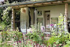 A MEDIA TARDE: UN RINCON FRANCÉS / A FRENCH SHABBY CORNER   desde my ventana   blog de decoración  