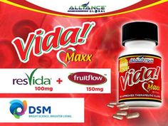 Introducing our latest product that has the ability to maintain normal blood circulation and helps to maintain healthy platelet function important to cardiovascular health. Vida Maxx started to work as quickly as 1.5 hours after taking the supplement and continued to enhance normal blood circulation for up to 12 hours.
