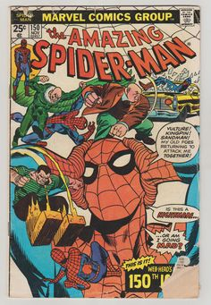 Amazing Spider-Man Vol 1 150 Comic Book. GD by RubbersuitStudios #spiderman #comicbooks