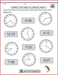 Telling Time Worksheets - o\'clock worksheet 2 | Teaching Kids To ...