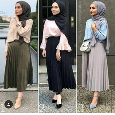 Fashion Hijab Style Ootd Maxi Skirts Ideas For 2019 Modern Hijab Fashion, Street Hijab Fashion, Hijab Fashion Inspiration, Muslim Fashion, Skirt Fashion, Hijab Style Dress, Hijab Outfit, Hijab Chic, Chic Outfits