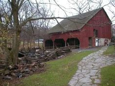 "Hamptons Pictures ...1850's ""Pennsylvania Barn"" at Quiet Valley Farm"