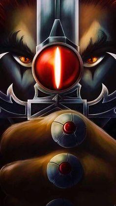 Classic Cartoon Characters, Classic Cartoons, Cartoon Art, Thundercats Cartoon, He Man Thundercats, Old School Cartoons, Cool Cartoons, Dark Fantasy Art, Awesome Anime