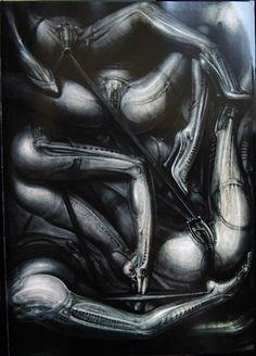 Hans Rüdi Giger: The Net I