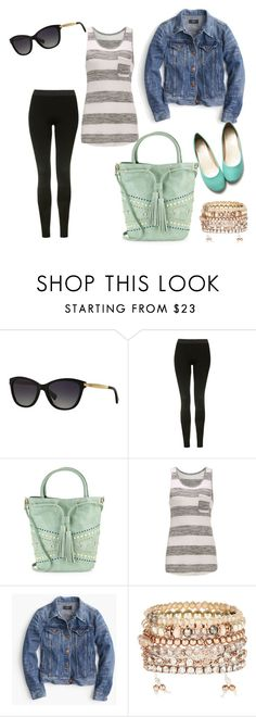"""Road Trip Day 1"" by kayla250 ❤ liked on Polyvore featuring Ralph Lauren, Topshop, Steven by Steve Madden, J.Crew, Accessorize and Ollio"