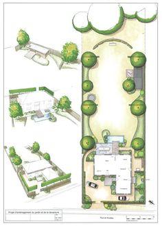 architecture plan jardin