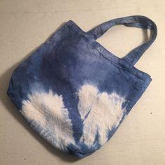 A personal favorite from my Etsy shop https://www.etsy.com/listing/401129345/graphic-indigo-blue-shibori-tote