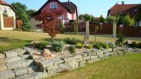 Realizace zahrady - Krásné Pole Stepping Stones, Outdoor Decor, Stair Risers