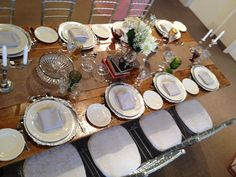Harvest Table with Vintage place setting Place Settings, Table Settings, A Table, Harvest, Eat, Tableware, Vintage, Dinnerware, Tablewares