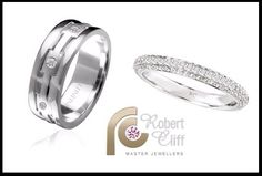 We have an amazing collection of Ladies and Gents Wedding Rings. We can also design a Ring that is unique to you and your special day!