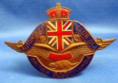 AUTOMOBILE CLUB OF BRITISH COLUMBIA
