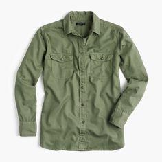 women's fatigue oversized boy shirt - women's shirts