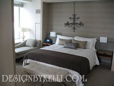 #Vinyl Decal~ #Chandeliers are beautiful in bedrooms, playrooms and even bathrooms