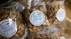 Just what every bacon lovers needs... Bacon Brittle is loaded with peanuts as a bonus! Try it today!