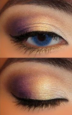 Beautiful eye makeup. A good balance between the heavy eyeshadow and minimal usage of eyeliner #eyes
