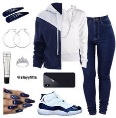 Retro-Inspired Outfits For Teens Cute Comfy Outfits, Cute Outfits For School, Tomboy Outfits, Cute Casual Outfits, Nike Outfits, Jordan Outfits For Girls, Teenage Girl Outfits, Teen Fashion Outfits, Outfits For Teens
