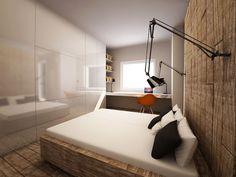 pomysł na lampy nad łóżkiem