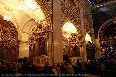 Interior of the basilica at Jasna Góra Monastery