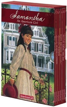 Samantha! She was my favorite American Girl next to Molly! My two favorite eras of American history :) I saw that they came out with an American Girl that was set in the 70's Vietnam/hippie era... But it was long after I stopped reading the series.