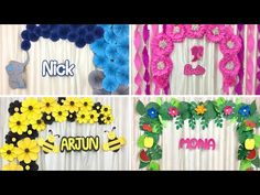 4 Awesome Birthday Theme Party Decor Ideas for Girls & Boys | Birthday Decor Ideas at home - YouTube