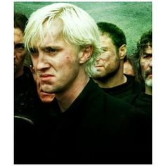 Draco Malfoy ❤ liked on Polyvore featuring harry potter, pictures, hogwarts, people and tom felton