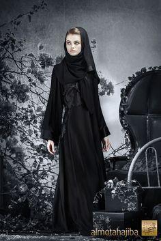 a8e40b99243c8 Abaya by Almotahajiba. Winter Collection 2013-2013. Black Abaya