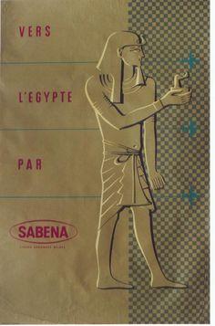Vers l'Egypte par Sabena -