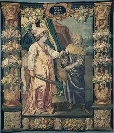 Judith tenant la tête d'Holopherne - - PÉRIODE 17e siècle