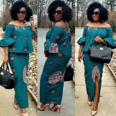 African Fashion: Latest Beautiful Ankara Skirt And Blouse Styles To Try outYou can find African Fashion: Latest Beautiful Ankara Skirt And Blouse Styles To Try outYou can find S. 2020 Best Stylish Ankara Skirt And Blouse Styles for Church African Print Dress Designs, African Print Dresses, African Print Fashion, Africa Fashion, Ghana Fashion, Latest African Fashion Dresses, African Dresses For Women, African Attire, Ankara Rock