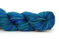 Lace Emerald Blue, 8.95,  Malabrigo Lace  100% Baby Merino  50g gram / 430 meter