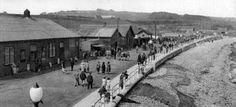 Tour Scotland Photographs: Old Photograph Promenade Stonehaven Scotland