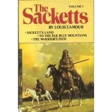love Louis L'amour books He wrote about two dozen books featuring the Sackett family .  I have 17 of them...the best of the best.