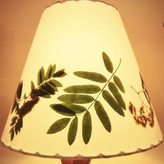 Rowan Lamp Shade, Botanical Lampshade, Pressed Rowan Leaf and Flower, Mountain Ash, Sacred Tree Wood, Wicca, Pagan, Druid, Celtic Traditions by botanicallampshades on Etsy https://www.etsy.com/listing/168682617/rowan-lamp-shade-botanical-lampshade