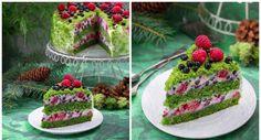 19 Ideas for desserts cake fruit Moss Cake, White Chocolate Desserts, Fruit Juice Recipes, Dessert Drinks, Creative Food, No Cook Meals, No Bake Cake, Easy Desserts, Baking Recipes