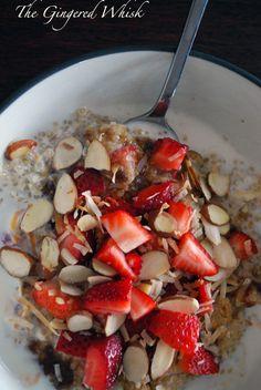 The Gingered Whisk: Breakfast Quinoa
