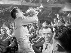 George Reeves, Montgomery Clift and Frank Sinatra George Reeves, From Here To Eternity, Montgomery Clift, Falling In Love, Movie Tv, Cinema, Handsome, Couple Photos, Concert