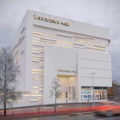 VrayWorld - Tehranpars Mall Facade More