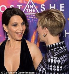 Scarlett Johansson and Juliette Binoche attended the Ghost In The Shell premiere in Paris 3/21/2017